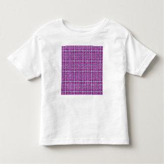 Glittery Purple Awareness Plaid Toddler T-Shirt
