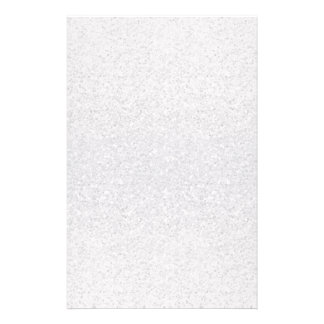 Glittery Silver Ombre Customized Stationery