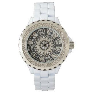 Glittery White Watch