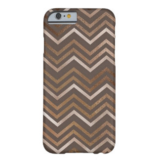 Glittery Zig Zag Marble Barely There iPhone 6 Case