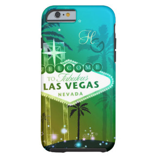 Glitz & Glam Las Vegas Monograms Tough iPhone 6 Case