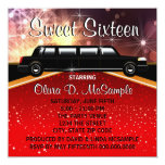 Glitz Glamour Red Carpet Movie Star Invitations