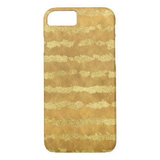 Glitz Gold Stripes iPhone 8/7 Case