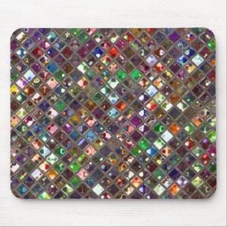 Glitz Tiles Multicoloured print mousepad