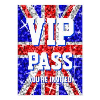 Glitz UK 'VIP PASS' invitation