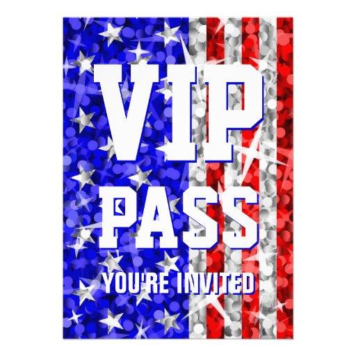 Glitz USA 'VIP PASS' invitation
