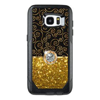 Glitzy Bling Faux Jewel OtterBox Samsung Galaxy S7 Edge Case