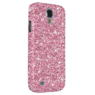Glitzy Bubblegum Glitter Galaxy S4 Case