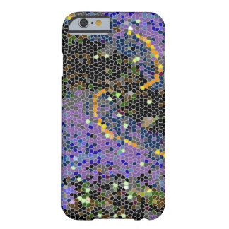 Glitzy Design with a Splash of Colour Barely There iPhone 6 Case