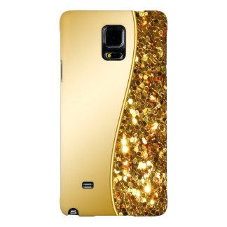 Glitzy Galaxy Note 4 Simulated Glitter Case