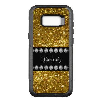 Glitzy Girls Glitter Name Drop OtterBox Commuter Samsung Galaxy S8+ Case