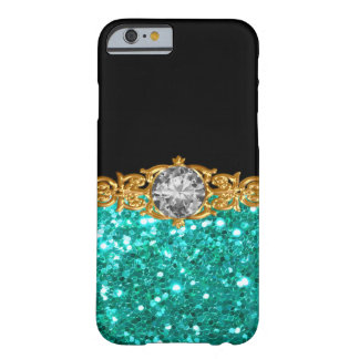 Glitzy Glamorous Ladies Bling Design Barely There iPhone 6 Case