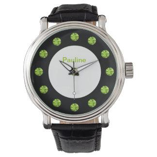 Glitzy Monogram Bling Watch