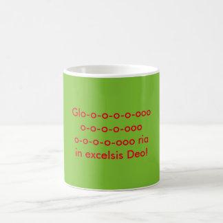 Glo-o-o-o-o-ooo, o-o-o-o-ooo, o-o-o-o-ooo ria coffee mug