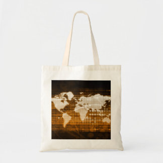 Global Access of Service and Technology Solutions Tote Bag