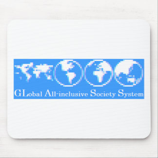 GLobal All-inclusive Society System (GLASS) Mouse Pad