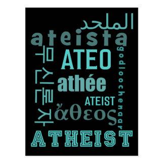 Global Atheists Postcard