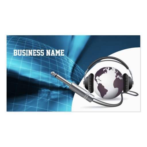 Global Call Center/Sales Support Business Card