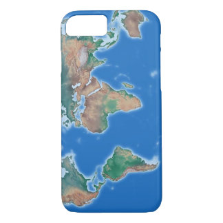 Global Cell Phone World Map iPhone 8/7 Case