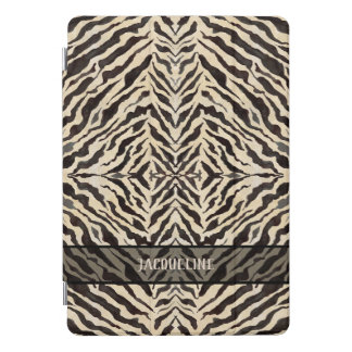 Global Chic World Traveler Tribal Zebra Pattern iPad Pro Cover