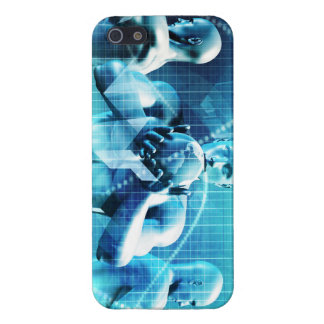 Global Conference Concept as a Abstract Background iPhone 5 Cases