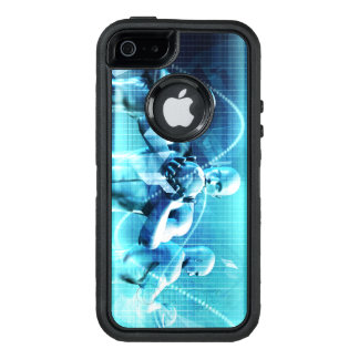 Global Conference Concept as a Abstract Background OtterBox Defender iPhone Case
