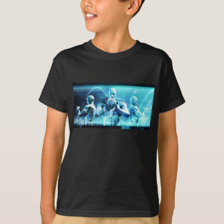 Global Conference Concept as a Abstract Background T-Shirt