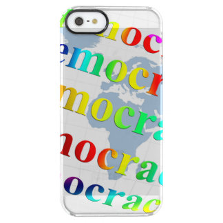 Global Democracy Clear iPhone SE/5/5s Case