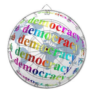Global Democracy Dart Boards