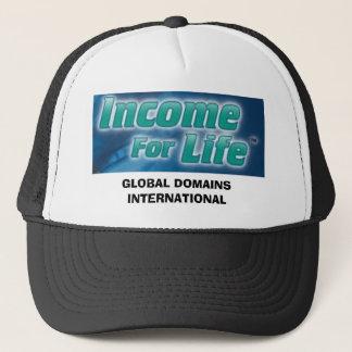 GLOBAL DOMAINS INTERNATIONAL TRUCKER HAT
