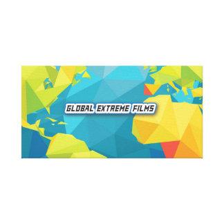 Global Extreme Films Canvas Banner (Banner Logo)