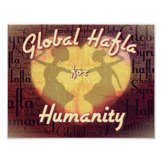 Global Hafla for Humanity Poster