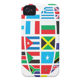 Global Heart iPhone 4 Case-Mate Case