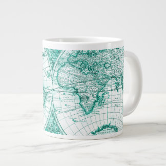 Global Map Jumbo Coffee Mug