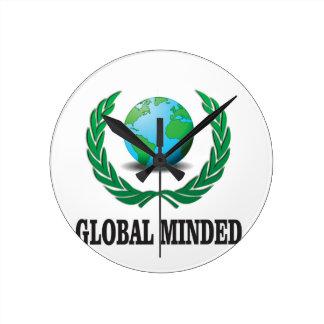 global minded wall clocks