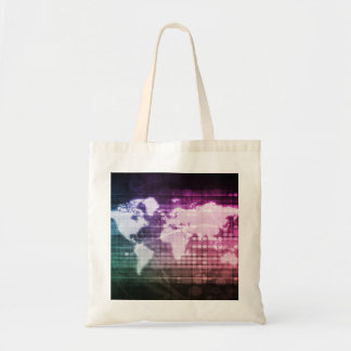 Global Network Connection and Integrated Tote Bag