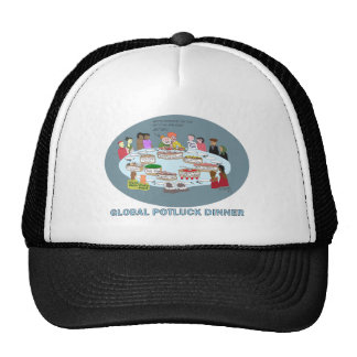 GLOBAL POTLUCK DINNER MESH HATS