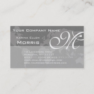 World map business cards zazzle au global professional elegant monogram world map business card colourmoves