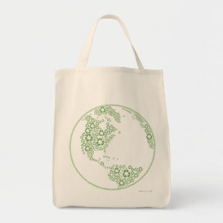 Global Recycle Organic Tote bag