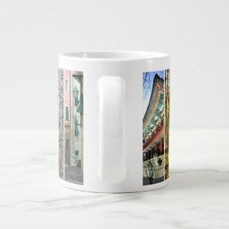 Global Soul Around The World Mug 20 Oz Large Ceramic Coffee Mug