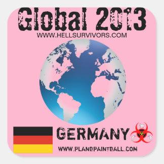 Global Sticker Germany 2013