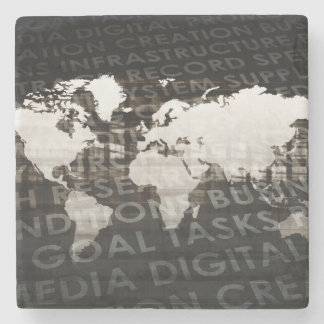 Global Subscription Services System as a Platform Stone Coaster