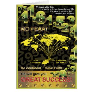 Global Success Greeting Card