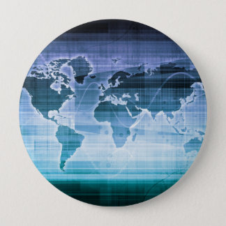 Global Technology Solutions 10 Cm Round Badge