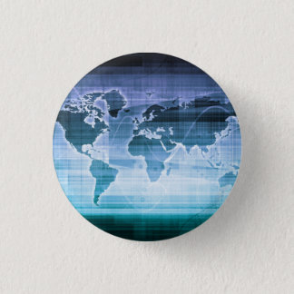 Global Technology Solutions 3 Cm Round Badge