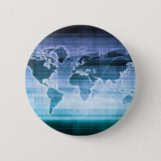 Global Technology Solutions 6 Cm Round Badge