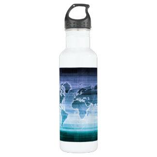Global Technology Solutions 710 Ml Water Bottle