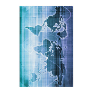 Global Technology Solutions Acrylic Print