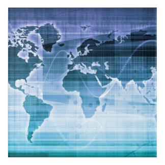 Global Technology Solutions Acrylic Print