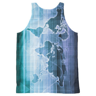 Global Technology Solutions All-Over Print Singlet